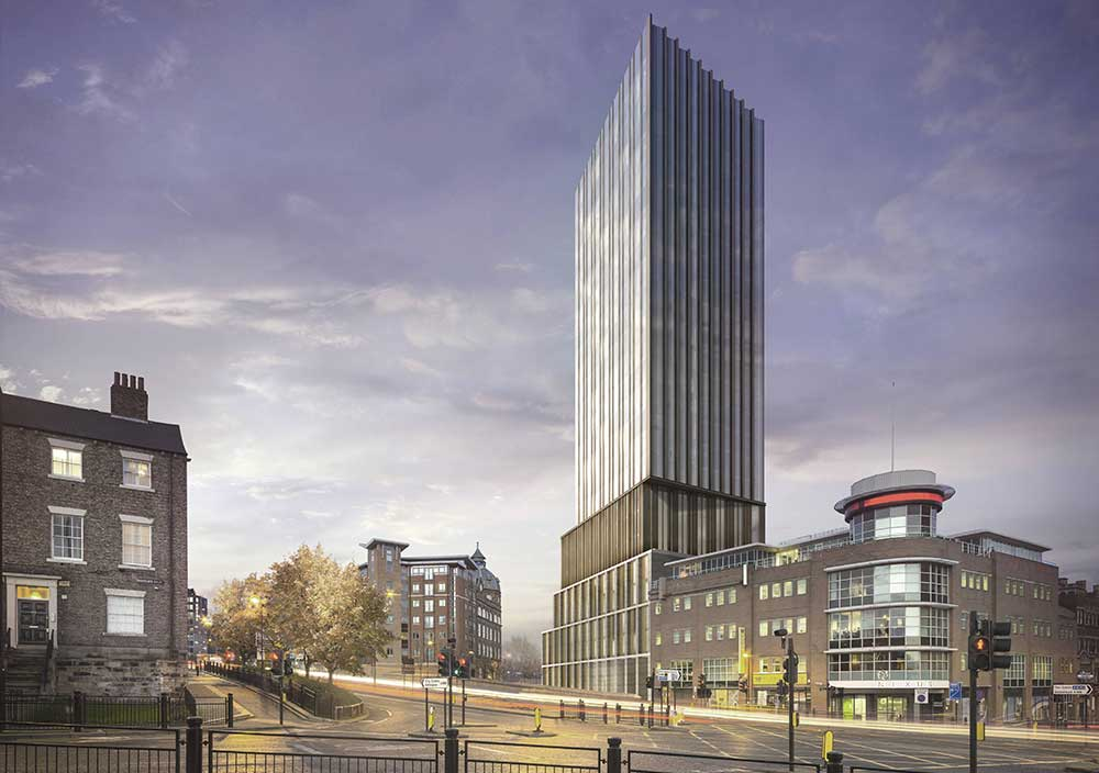 Hadrian's Tower, Newcastle Property Development