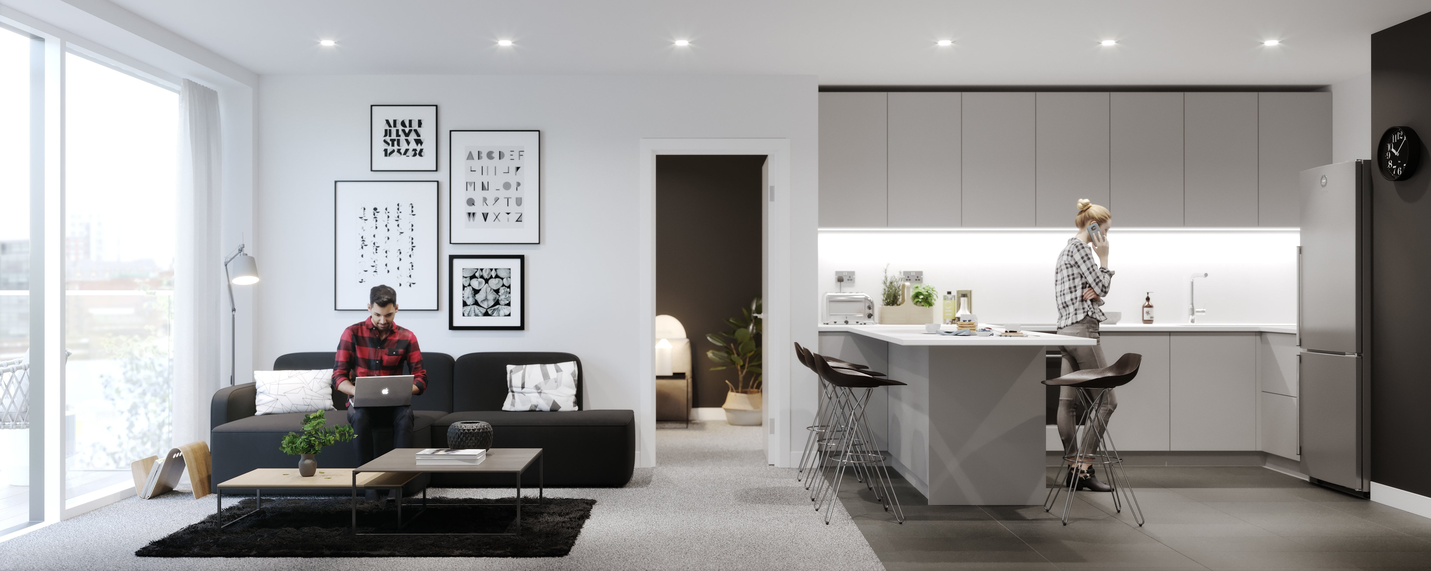 Blackfriars Apartment in Manchester