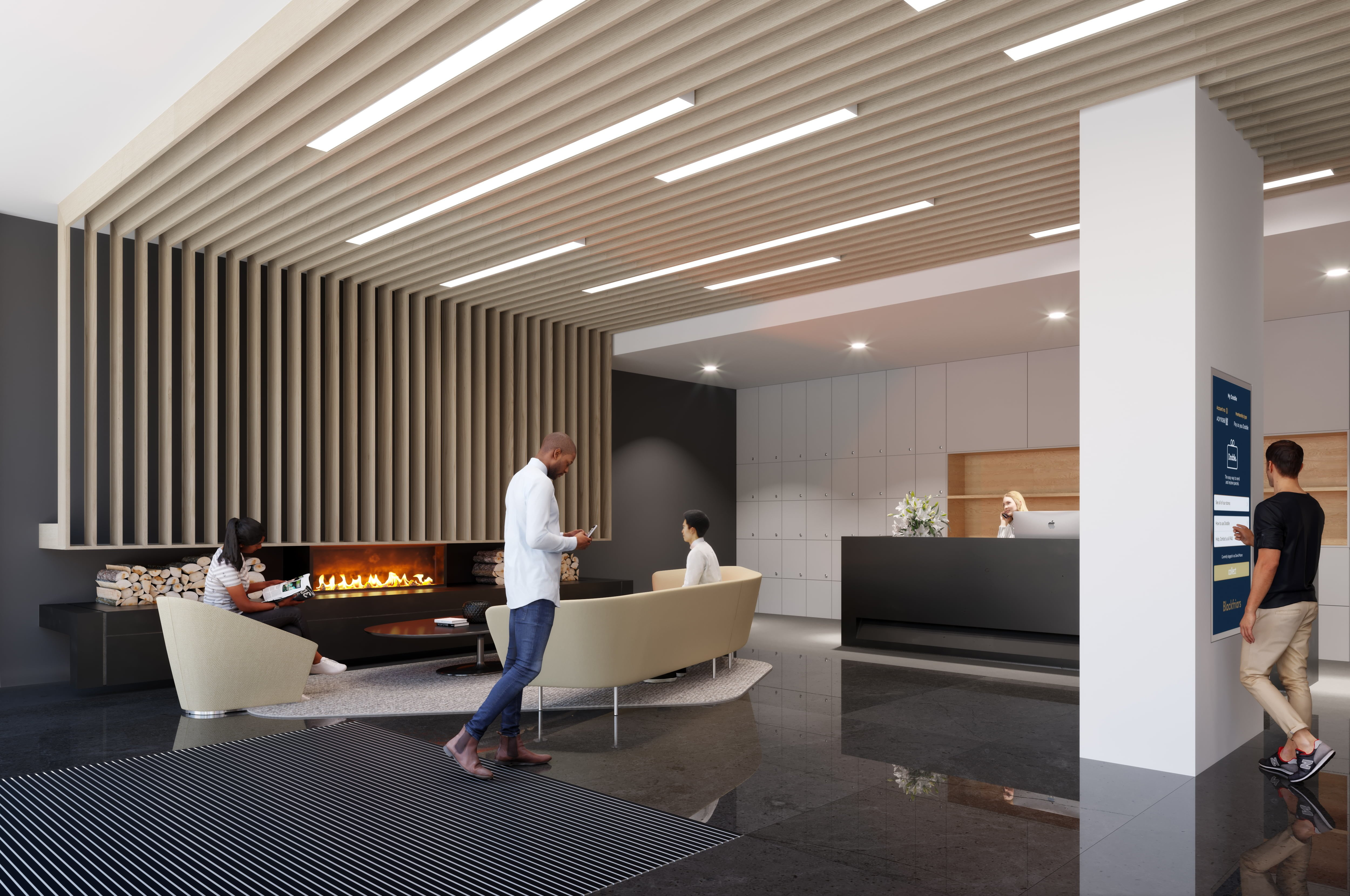 Reception Area at Local Blackfriars, Manchester